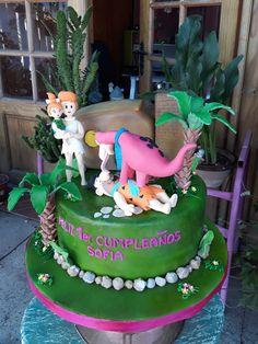 torta Pica Piedra Vilma - Pabbles - Pedro y Dino