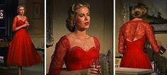 Grace Kelly en Dial M for Murder (1954) de Alfred Hitchcock.