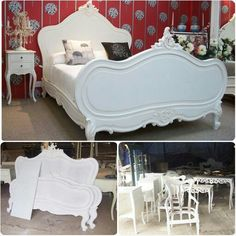 French White Bed