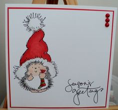 CAS Christmas x 2 by: craftymoone