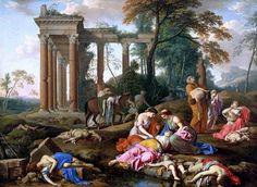 laurent de la hyre | ... The Children of Bethel Mourned by their Mothers by Laurent de la Hyre