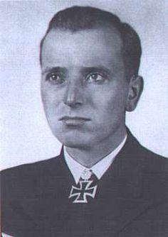 """The top U-boat """"Ace,"""" Fregattenkapitän Otto Kretschmer of all the WWII German U-boat Commanders, with the most ships sunk and most total tonnage."""