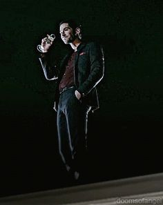 Tom Ellis as Lucifer Morningstar  on LUCIFER  | source: Like the devil? Exactly.
