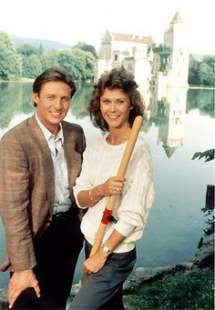 """Bruce Boxleitner and Kate Jackson in """"Scarecrow and Mrs. King"""" ~ 28 May CBS) Tvs, Amanda King, Bruce Boxleitner, The Fall Guy, Kate Jackson, King Photo, Cheryl Ladd, Babylon 5, Army Wives"""