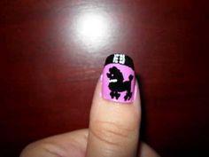 Poodle Skirt Nail Design (Using Migi Nail Art Pens) 1950s Poodle Skirt, Halloween Nails, Diy Halloween, Nail Art Pen, Pink Poodle, Sweet Life, Love Nails, Girls Best Friend, Nail Art Designs
