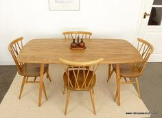 Ercol Originals Plank Table  Plank Table Plank And Ercol Furniture Gorgeous Second Hand Ercol Dining Room Furniture Inspiration Design
