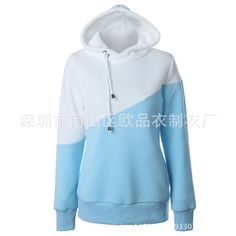 Woman's Big Hooded Long Sleeve Hoodies - Many Colors
