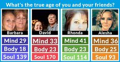 Body and mind age differently. We will show you the result of the ultimate age analysis. Click here!