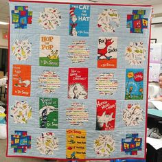 Dr suess quilt