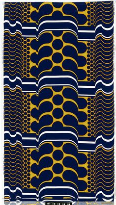 Barbara Brown; 'Decor' Textile Design for Heal's, 1967.