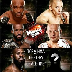 With Demetrious Johnson fighting tonight, does he appear in your Top 5 MMA fighters of all-time?  #FightDay #UFCKansasCity #FightNight #mma #ufc