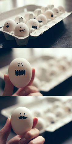 Ghostie eggies.