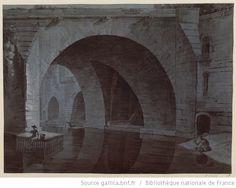 Titre : Cagnards de l'Hôtel-Dieu à Paris : [dessin] 18 ème siècle