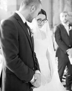 Noiva de óculos