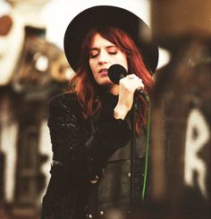 I think I have a girl-crush on Florence Welch.  She's so cool.  I wanna be cool.