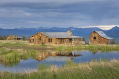 Just one of these would be enough for me...  ;)   Shilo Ranch - Architect Portfolio | Miller Architects