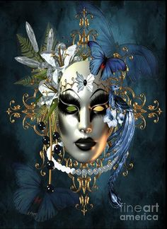 Online Contest - The Masks of Venice - Fine Art America