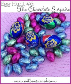 Egg hunt #6: The Chocolate Surprise. A sweet ending to your next family fun night!