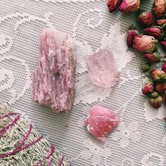 The Three Pinks   A treatment to soothe the weary of hearts . Valentine's Day can be wonderful, it can also be rough. In times when my heart feels a bit chipped I always seek the comfort of this gentle stone treatment. Three Pinks is a sweet and supportive treatment for helping your heart feel safe enough to open to fullness and nourishment. In Chinese medicine anxiety is understood to be a leakage of chi. When we are stressed, anxious or torn, our life force can literally eek away from u...