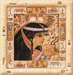 RIOLIS COUNTED CROSS STITCH KIT - EGYPT - R506 - 24*25 cm #RIOLIS