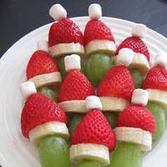 frutas navideñas
