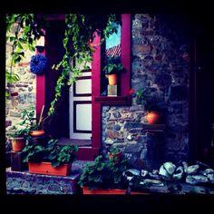 Bozcaada Fantasy Inspiration, Fences, Gates, The Past, Sweet Home, Home And Garden, Windows, Doors, Future