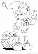 160 Noddy Printable Coloring Pages For Kids Find On Book Thousands Of