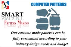 www.smartpatternmaking.com- Official Site-Pattern Making Full Package services