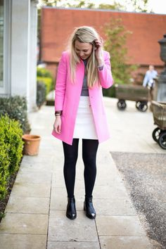 Marmalade - British Style Blog: PINK OVERCOAT