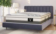 "VERITAS VH5000 15.5"" Super Pillow Top Hybrid Mattresses | The Dump Luxe Furniture Outlet Dump Furniture, Luxury Furniture Brands, Mattress Protector, Furniture Outlet, Soft Pillows, Mattresses, California King, Memory Foam, Plush"