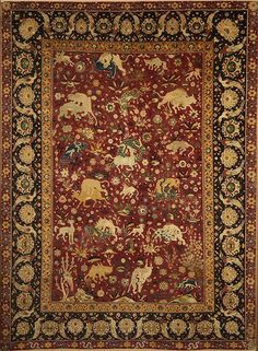 Persian Kashan carpet, second half of 16th century