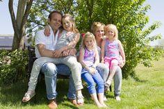 Zomerse familie foto # Marjan Bakker Fotografie Oldebroek # Spontane fotografie