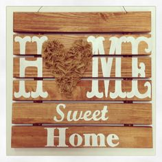Home Sweet Home Sign Created by Katie Stilwater
