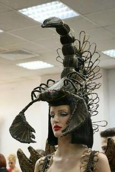 Fantasy hairstyles by Eldin Krivosic