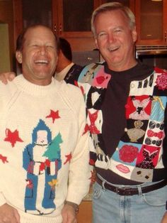 NIce to see they make Ugly Sweaters for guys to wear, too!