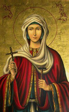 ΌΛΗ Η ΟΡΘΟΔΟΞΊΑ : 17 ΙΟΥΛΙΟΥ  Εορτή της Αγίας Μεγαλομάρτυρος Μαρίνας...