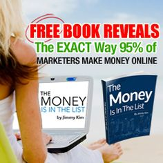 "FREE DOWNLOAD!  ""The Money is in the List"" by Jimmy Kim! Check it out here! http://prosperousdad.com/wordpress/ListPower"