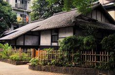 Lafcadio Hearn's Former Residence in Kumamoto, Kyushu.