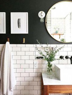 Best Bathroom Lighting for Makeup Application. 20 Best Bathroom Lighting for Makeup Application. Best Bathroom Lighting Options for Shaving & Putting On Makeup Modern Bathroom Design, Bathroom Interior Design, Modern Interior Design, Bathroom Designs, Bathroom Ideas, Modern Decor, Shower Ideas, Bad Inspiration, Bathroom Inspiration