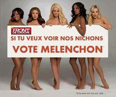 Melenchon = Nichon