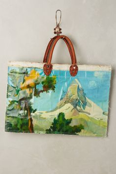 One-of-a-Kind Idyllic Tote by Leslie Oschmann