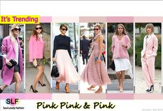 Pink Pink & Pink Pink Is Trending. More Pink Color Fashion Trends for Spring Summer 2014. More Trending Pink. Click on the Image to See ...