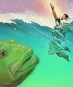 "Jonah 1:17 Jehovah now sent a huge fish to swallow Jo′nah, so that Jo′nah came to be in the belly of the fish for three days and three nights. 2 Then Jo′nah prayed to Jehovah his God from the belly of the fish, 2 and he said: ""Out of my distress I called out to Jehovah, and he answered me. Out of the depths of the Grave I cried for help. You heard my voice."