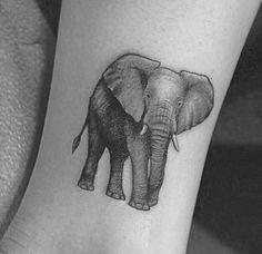 Elephant tattoo- forearm