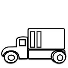 truck clipart black and white clipart panda free clipart images rh pinterest com moving truck clip art images moving truck clipart free