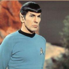 First Officer Mr. Spock of the USS Enterprise, Star Fleet #startrek