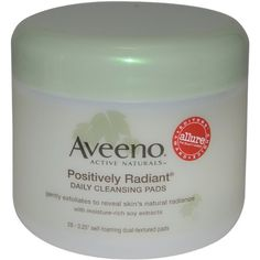 Aveeno Active Naturals Positively Radiant Cleansing Pads 28 Count -- Find out more about the great product at the image link.