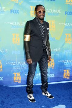 will.i.am - just love the way he dresses!!