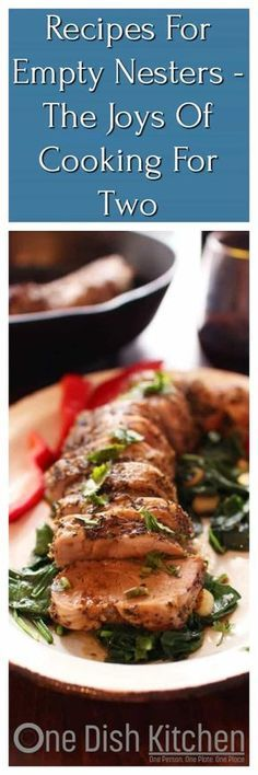Eat Healthier And Avoid Leftovers With These 20 Delicious Recipes For Empty Nesters. Little Batch Breakfast, Dinner And Dessert Recipes Along With Small Batch Recipes For Salad Dressings, Sauces, Granola And More. Light The Candles, Put On The Music And B Dinner For One, Breakfast For Dinner, Breakfast Recipes, Dessert Recipes, Crockpot Recipes, Cooking Recipes, Healthy Recipes, Delicious Recipes, Easy Recipes