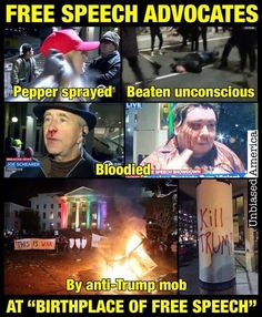 THIS is fascism and the progressives/leftists are the brownshirts... as usual.